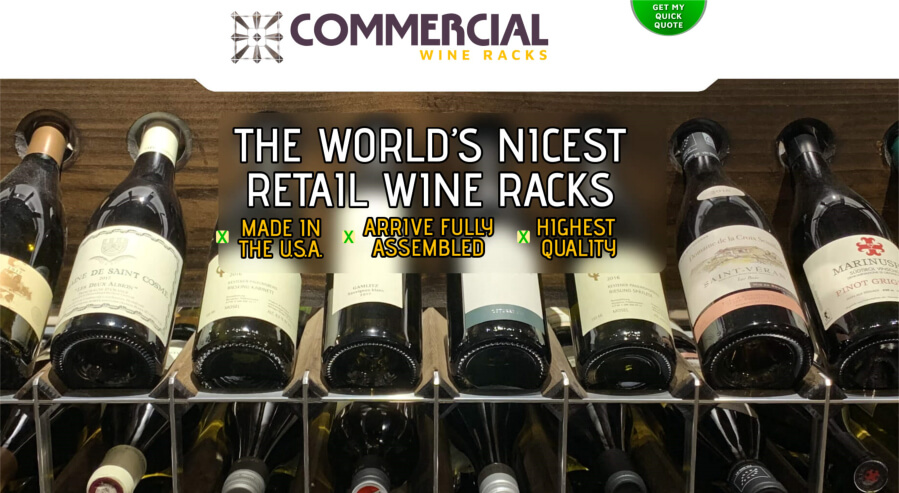Commercial Wineracks